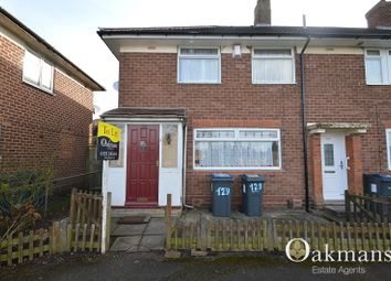 Thumbnail 3 bedroom end terrace house to rent in Alwold Road, Birmingham, West Midlands.