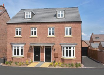 "Thumbnail 3 bed semi-detached house for sale in ""Kennett"" at Welbeck Avenue, Burbage, Hinckley"