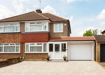 Thumbnail 3 bed semi-detached house for sale in Beehive Road, Goffs Oak, Waltham Cross
