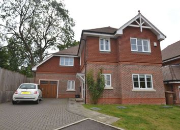 Thumbnail 4 bed detached house to rent in Warren Farm Close, Epsom