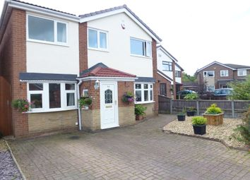 Thumbnail 4 bed detached house for sale in St James Gardens, Leyland