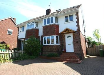 Thumbnail 3 bed semi-detached house for sale in Cranbourne, Basingstoke, Hampshire