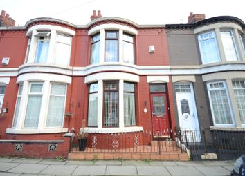 Thumbnail 3 bed terraced house for sale in Southdale Road, Wavertree, Liverpool