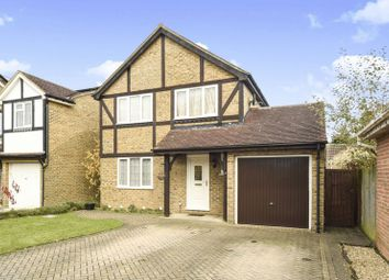 Thumbnail 4 bed detached house for sale in Wield Court, Lower Earley, Reading