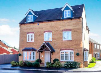 Thumbnail 5 bedroom detached house for sale in Littlecote Grove, Peterborough