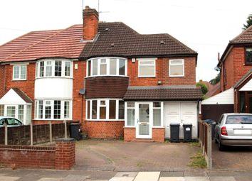Thumbnail 3 bedroom semi-detached house for sale in Battenhall Road, Harborne, Birmingham