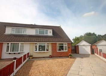 Thumbnail 4 bed semi-detached bungalow for sale in Seacroft Crescent, Marshside, Southport