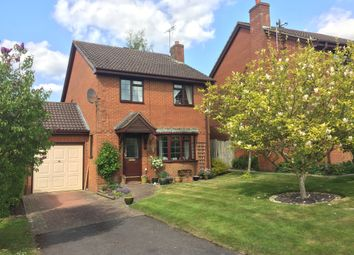 Thumbnail 3 bed detached house for sale in Brunel Close, Micheldever Station, Winchester