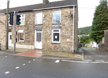Thumbnail 3 bed end terrace house for sale in Bridgend Road, Maesteg