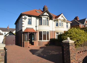 Thumbnail 4 bed semi-detached house for sale in Windermere Road, South Shore, Blackpool