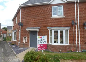 Thumbnail 4 bed semi-detached house to rent in Sayers Crescent, Church Road, Wisbech St Mary