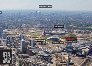 Thumbnail 2 bed flat for sale in 25th Floor, Stratosphere Tower, The Broadway, Stratford, London