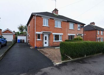 Thumbnail 3 bed semi-detached house for sale in Norwood Drive, Belmont, Belfast
