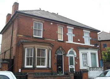 Thumbnail 4 bed semi-detached house to rent in Empress Road, Derby