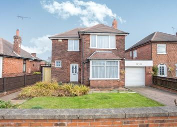Thumbnail 3 bed detached house for sale in Linby Road, Hucknall, Nottingham
