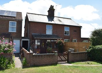 Thumbnail 3 bed cottage for sale in The Common, Somerleyton, Lowestoft