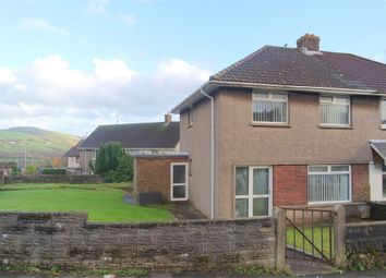 Thumbnail 3 bed semi-detached house for sale in Coronation Road, Llangynwyd, Maesteg