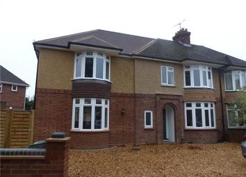 Thumbnail 4 bed semi-detached house to rent in Byron Crescent, Bedford