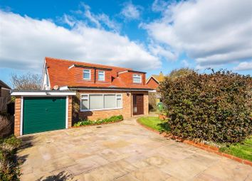 Thumbnail 4 bed detached bungalow for sale in Lullington Close, Seaford