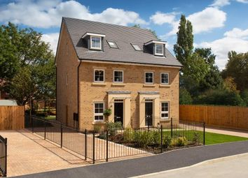 "Thumbnail 4 bedroom semi-detached house for sale in ""Helmsley"" at Greenkeepers Road, Great Denham, Bedford"