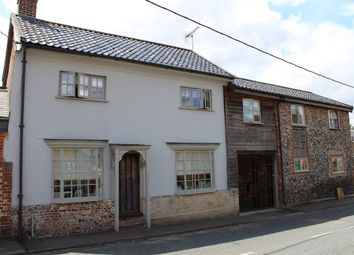 Thumbnail 5 bed semi-detached house for sale in Thetford Road, Ixworth, Bury St. Edmunds