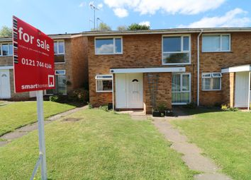 Thumbnail 2 bed maisonette for sale in Nethercote Gardens, Shirley, Solihull