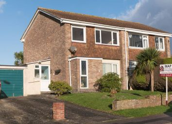 Thumbnail 3 bed semi-detached house for sale in Tregarrian Road, Tolvaddon, Camborne