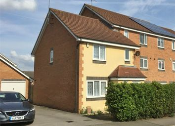 Thumbnail 3 bedroom end terrace house for sale in Violet Close, Corby, Northamptonshire