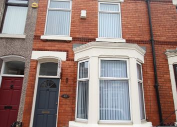 Thumbnail 3 bed flat to rent in Whitland Road, Fairfield, Liverpool