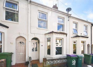 Thumbnail 2 bed terraced house for sale in Walton Road, Folkestone