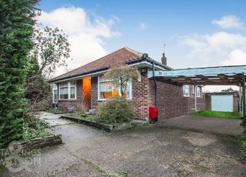 Thumbnail 3 bed detached bungalow for sale in Hillside Road East, Bungay