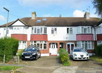 Thumbnail 4 bed terraced house to rent in Dirdene Gardens, Epsom
