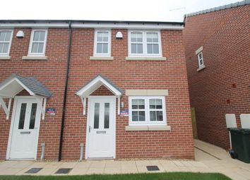 Thumbnail 2 bed end terrace house to rent in Hawk Drive, Blaxton, Doncaster