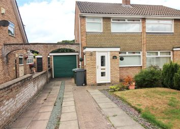 Thumbnail 3 bed semi-detached house for sale in Spurstow Close, Prenton, Merseyside