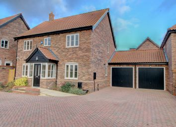 Thumbnail 4 bed detached house for sale in Carvers Lane, Attleborough