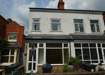 Thumbnail 3 bedroom end terrace house to rent in 26 Waterloo Road, Kings Heath, Birmingham