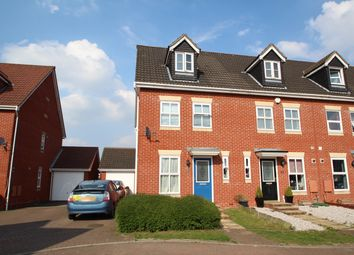 Thumbnail 3 bed town house for sale in Tanners View, Ipswich