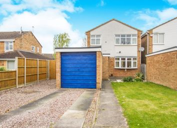Thumbnail 3 bed detached house for sale in Ayrshire Close, Barwell, Leicester