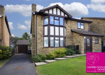 Thumbnail 4 bed detached house for sale in Wheelwright Close, Raunds, Wellingborough, Northamptonshire