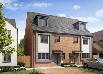 "Thumbnail 4 bed semi-detached house for sale in ""The Leicester"" at Power Station Road, Minster On Sea"