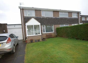 Thumbnail 3 bedroom semi-detached house for sale in Thorneyford Place, Ponteland, Newcastle Upon Tyne