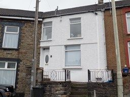 Thumbnail 3 bed terraced house to rent in Industrial Terrace, Merthyr Tydfil