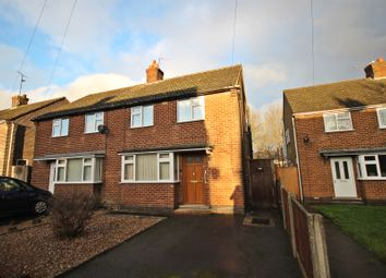 Thumbnail 2 bed semi-detached house for sale in Riber Avenue, Somercotes