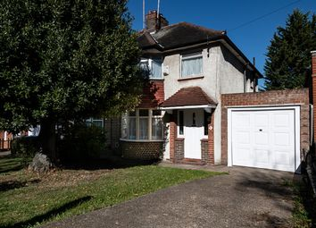 Thumbnail 3 bed semi-detached house to rent in Wykeham Hill, Wembley