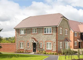 "Thumbnail 4 bed detached house for sale in ""Stevenson"" at Worthing Road, Southwater, Horsham"