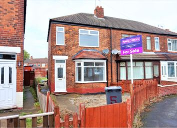 Thumbnail 3 bed semi-detached house for sale in Alston Avenue, Hull