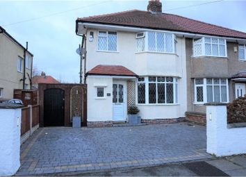 Thumbnail 3 bed semi-detached house for sale in Eastway, Greasby