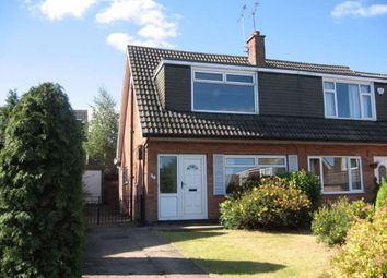 Thumbnail 3 bedroom semi-detached house to rent in Primley Park Drive, Alwoodley, Leeds