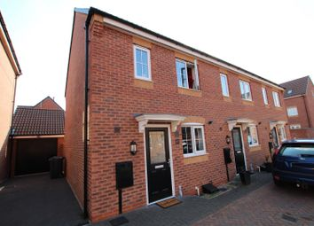 Thumbnail 2 bed town house for sale in Jeque Place, Stretton, Burton-On-Trent
