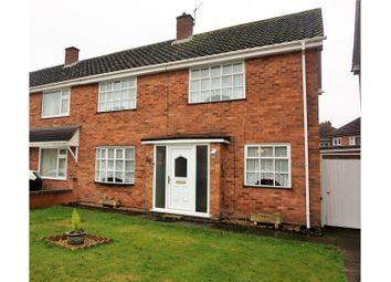 Thumbnail 2 bedroom semi-detached house for sale in George Road, Birmingham